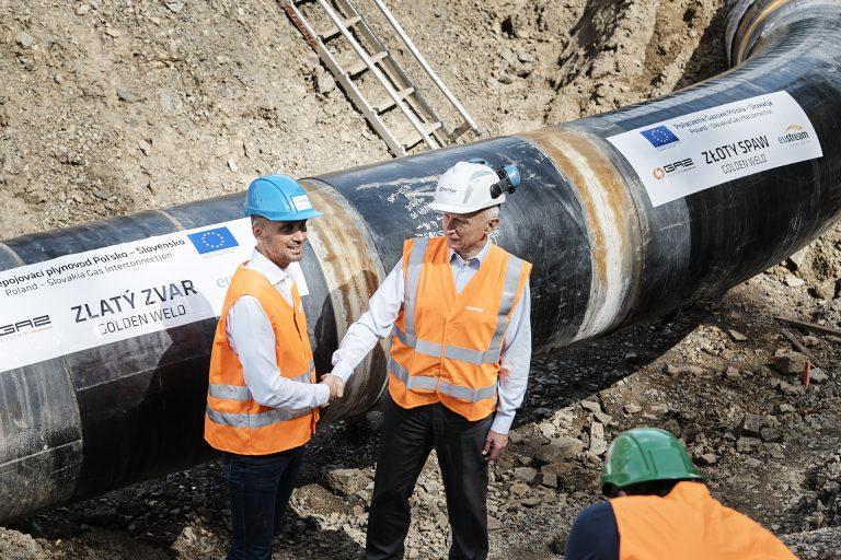 Slovensko prepojilo svoj plynovodný systém spoľským