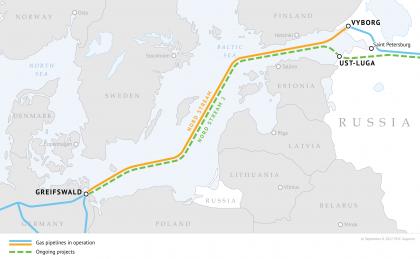 Gazprom: Plynovod NordStream2 bol úplne dokončený